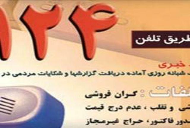دریافت بیش از 1300 مورد شکایت مردمی از واحدهای صنفی در استان سمنان