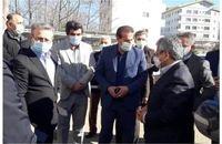 حضور معاونین وزارت بهداشت و درمان در کلاردشت و بازدید از بیمارستان حضرت قائم (عج)