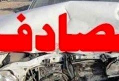 تصادف با ۲ کشته و یک زخمی در جاده کمربندی یاسوج