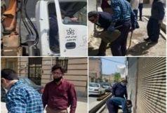 مراکز دپو ضایعات در قلعهمیر پلمب شدند