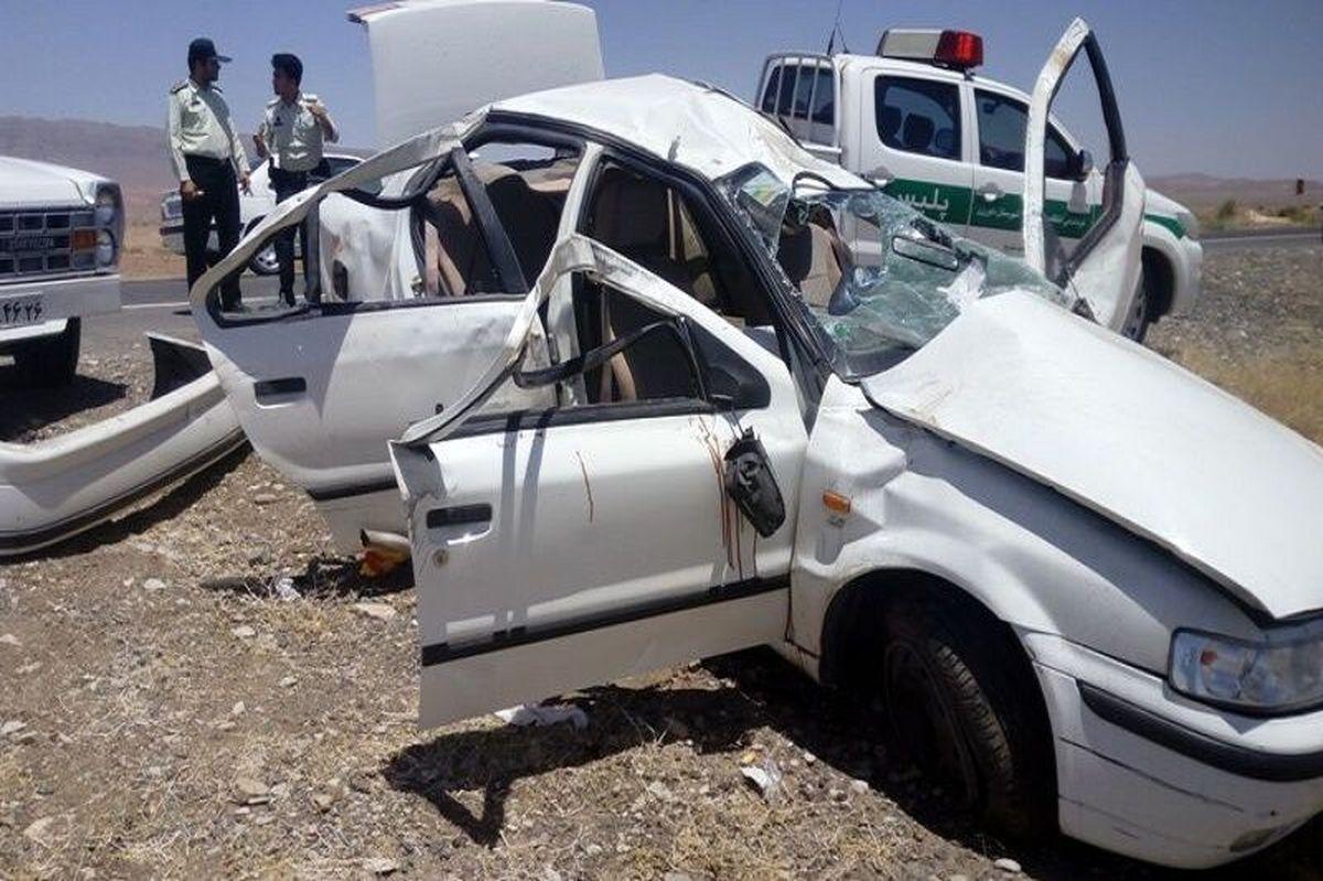 سه تبعه افغان بر اثر تصادف در جاده دیواندره - سقز  جان باختند