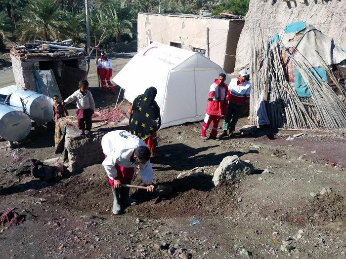 بارندگی شدید سبب تخیله ۶ روستای کنارک شد