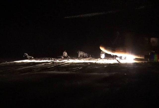 انجام موفقیتآمیز هلیبرن و انهدام اهداف در شب توسط بالگردهای هوانیروز