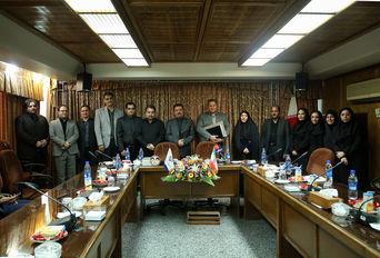 مراسم تودیع و معارفه مدیر کل مشارکتهای اجتماعی وزارت ورزش و جوانان