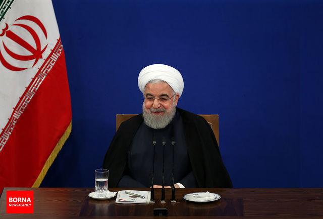 روحانی به 'میشل عون' تبریک گفت