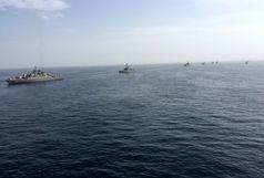 اولین حضور زیردریایی فاتح و ناوشکن سهند در رزمایش ولایت97