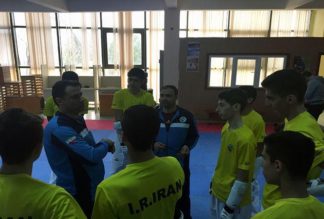 برگزاری نخستین تمرین تیم تکواندو نوجوانان در قزاقستان
