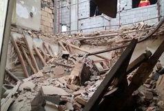 ریزش مرگبار ساختمان 4 طبقه در مرکز تهران