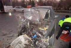 فوت سه  نفر در تصادف مرگبار