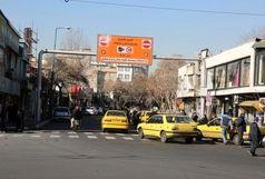 حجم ترافیک صبحگاهی در معابر اصلی شهر تهران