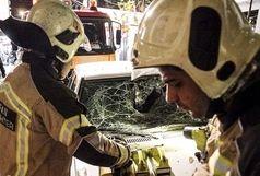 انفجار در کارخانه صنایع غذایی چناران