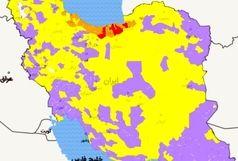 وضعیت شکننده کرونا در استانها / بیش از نیمی از شهرستانهای کشور  آبی شدند
