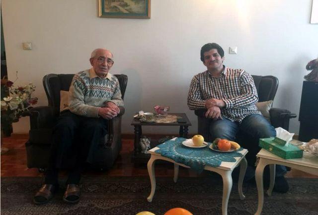 خادم با کیومرث ابوالملوکی دیدار کرد