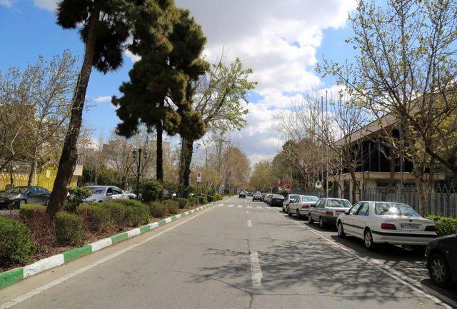 """اجرای طرح """" سنگ فرش پیاده راه شهریار"""" از امروز / تردد از ضلع شمالی خیابان"""