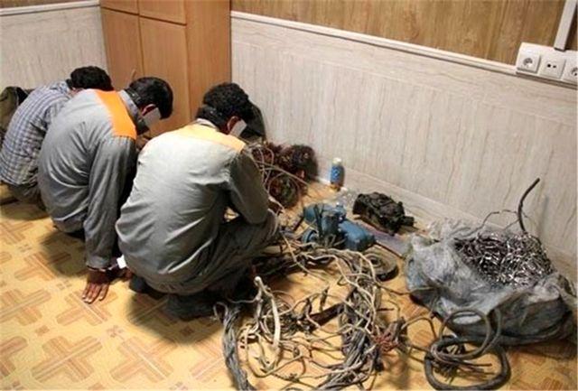 دستگیری سارقان با کشف 12 فقره سرقت در چرداول