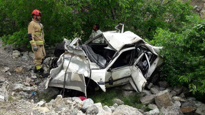 """2 کشته و 2 مصدوم در سانحه رانندگی محور """"اهر-کلیبر"""""""