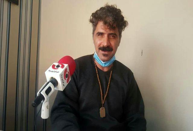 "گفتگو با علی حیدری هنرمند و بازیگر ""فیلم کوبیسم"""