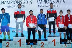 تیم ایران با کسب 3 مدال طلا و 4 مدال برنز به عنوان سوم رسید
