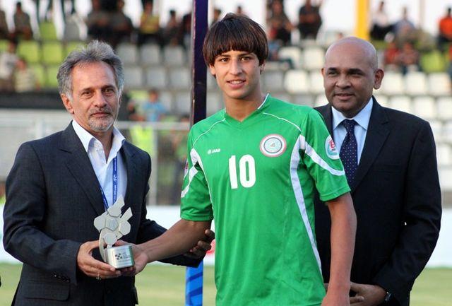 ستاره تیم ملی عراق در همدان!!!