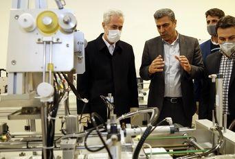 بازدید از واحد های تولیدکننده مواد بهداشتی و ضدعفونی کننده