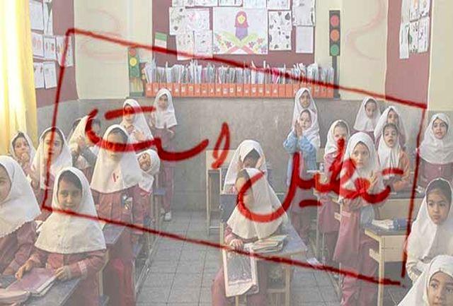 تندبارانی که مدارس ارومیه، سیلوانا و نازلو را به تعطیلی کشاند