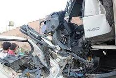 مصدومیت شش نفر در حادثه برخورد دو دستگاه پراید به یک دیگر
