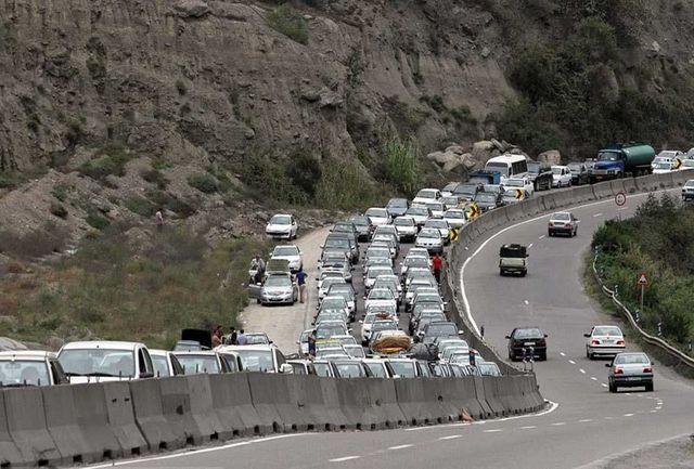 لغو محدودیت تردد در جاده  هراز