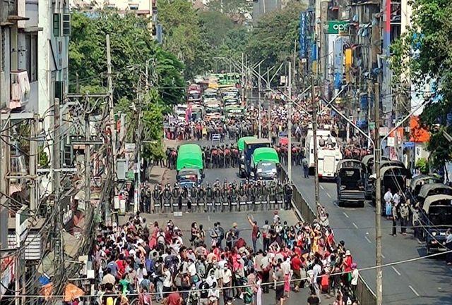 آمریکا یک شرکت حکومتی میانمار را تحریم کرد