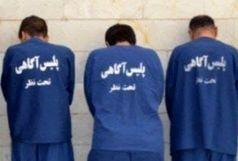 دستگیری عوامل سرقت مسلحانه طلافروشی در  نورآباد