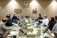 برگزاری نشست کمیسیون بینالملل کمیته ملی المپیک