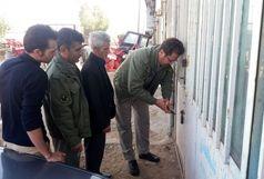 پلمپ دو کارگاه آلاینده محیط زیست در شهرستان البرز