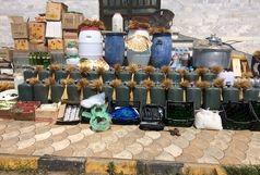 کشف یک کارگاه تولید مشروبات الکلی در لاهیجان