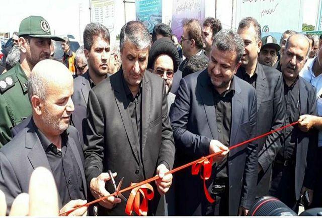افتتاح کمربندی شهر ساحلی محمودآباد و 59 کیلومتر راه روستایی در مازندران