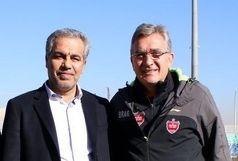 دیدار مدیر عامل باشگاه پرسپولیس با برانکو و سرخپوشان