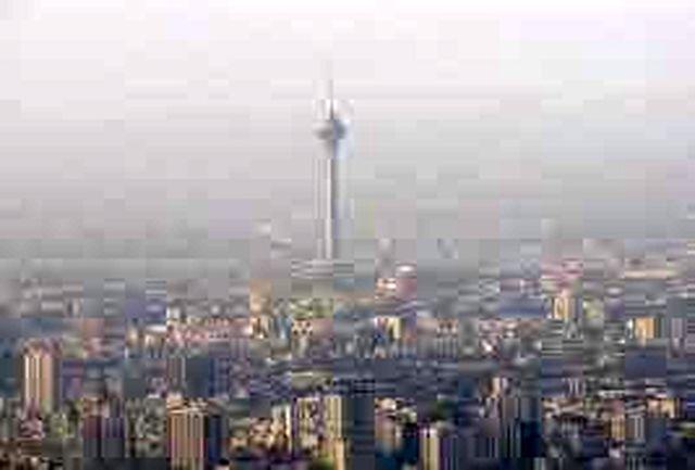 هشدار آلودگی هوا برای همه سنین از دوشنبه