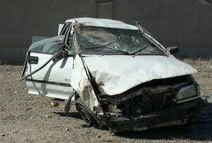 واژگونی سواری پراید یک کشته و 3 مجروح برجای گذاشت