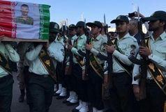 پیکر مطهر شهدای حادثه تروریستی در چابهار تشییع شد