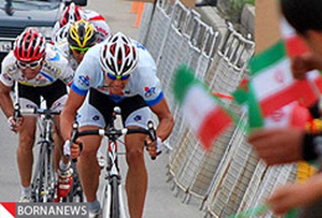 رقابت رکابزن قروینی با رقبا در مسابقات بین المللی ترکیه