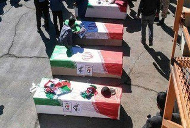 اعلام اسامی شهدای حادثه تروریستی در محور خاش - زاهدان