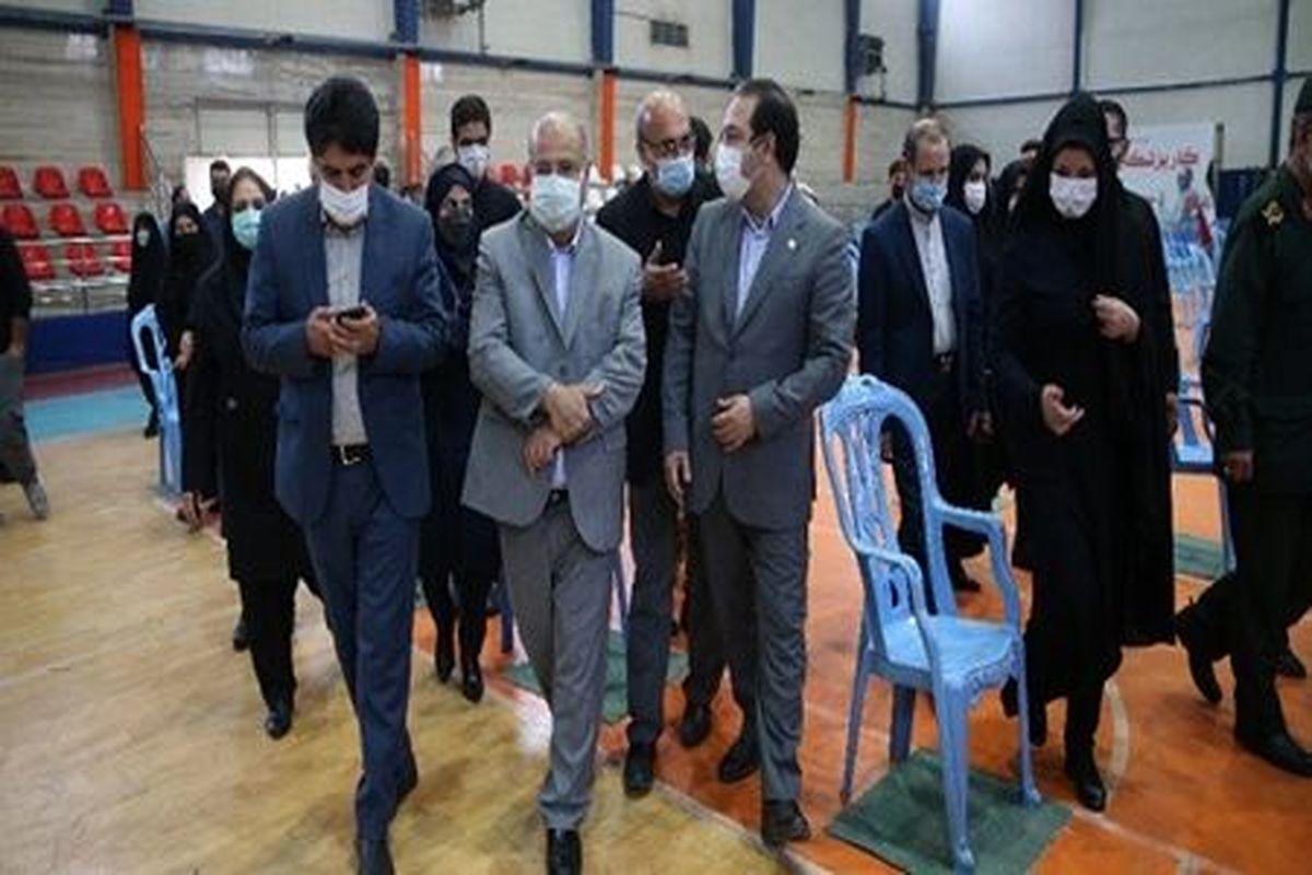 مصلی تهران پایگاه ارائه خدمات واکسیناسیون کرونا شد