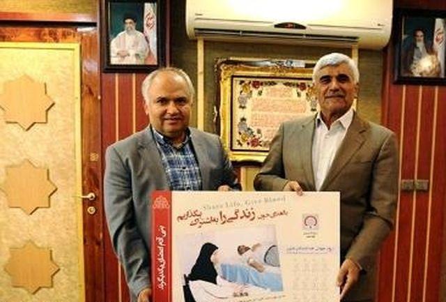 وزیر علوم به کمپین اهدای خون پیوست