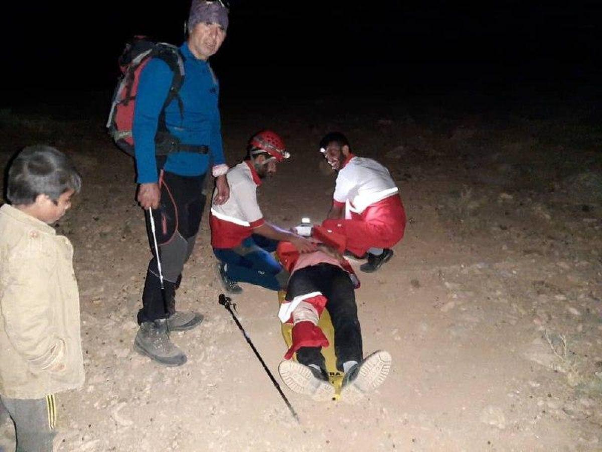نجات دو کوهنورد تهرانی در تمندر الیگودرز