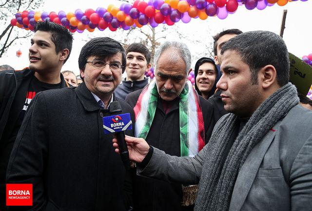 احمدی: ورزش ایران کارنامه درخشان و پرباری در چهل سال گذشته داشته است/ ببینید