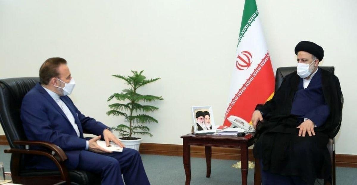 رییس دفتر رییس جمهوری با رییسی دیدار کرد