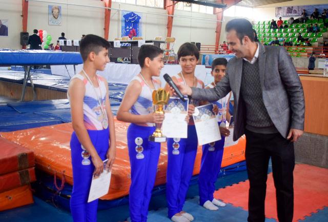 برگزاری مسابقه ژیمناستیک در استان