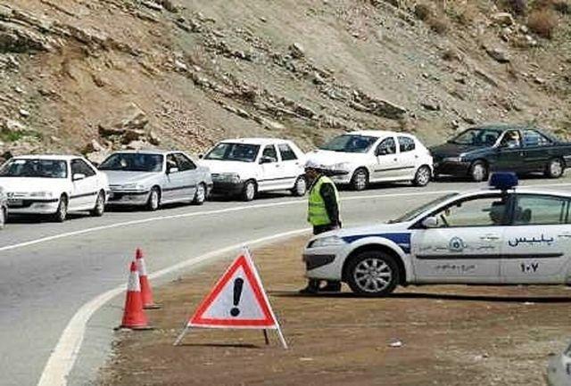 یک هزار خودرو از مبادی ورودی سنندج بازگردانده شد