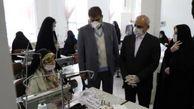 بازدید وزیر آموزش وپرورش از هنرستان تولید ماسکهای تنفسی