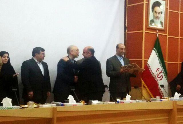 رییس سازمان انرژی اتمی از مدیر عامل شرکت گاز قزوین تقدیر کرد