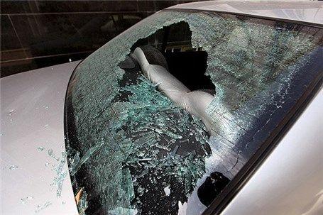 تخریب ۱۵ خودرو در یافت آباد