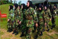 افسران زن ارتش افغانستان در کدام کشور آموزش می بینند؟
